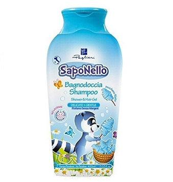 Saponello Gentle Shampoo & Shower Gel 400ml 13.53oz