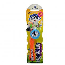 Saponello - Toothbrush (Age Over 3) (Random Color) 1 pc