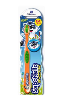Saponello - Toothbrush (Age Over 6) (Random Color) 1 pc