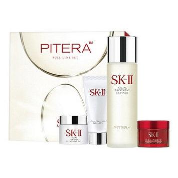 SK-II - Pitera Full Line Set: Essence 75ml + Cleanser 20g + Cleansing Gel 15g + Cream 15g 4 pcs