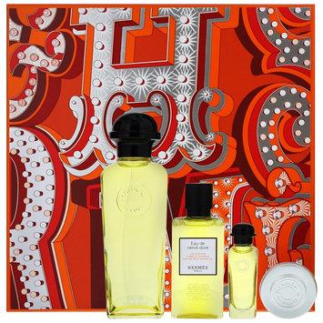 Herm s - Eau De Neroli Dore Eau De Cologne Set: Eau De Cologne 100ml + Eau De Cologne 7.5ml + Hair and Body Shower Gel 40ml + Moisturizing Balm 10ml 4 pcs