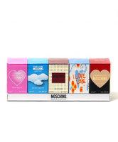 Moschino - Mini Women Fragrances Set: Cheap and Chic Classic Eau De Toilette 4.9ml + I Love Love Eau De Toilette 4.9ml + Glamour Eau De Parfum 5ml + Light Clouds Eau De Toilette 4.9ml + Pink Bouquet Eau De Toilette 5ml 5 pcs