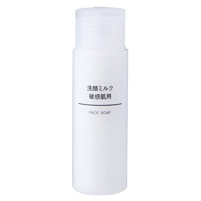 MUJI Sensitive Skin Face Soap Milk