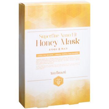Soo Beaut - Superfine Nano Fit Honey Mask 10 pcs