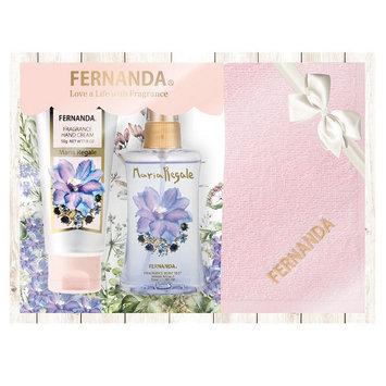 Fernanda - Limited Edition Xmas Set: Hand Cream + Mini Mist + Towel 3 pcs