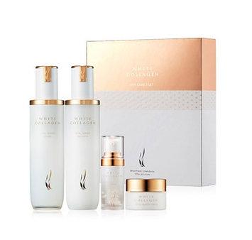 A.H.C - White Collagen Skincare Set: Toner 130ml + Emulsion 130ml + Serum 13ml + Cream 10g 4 pcs