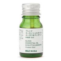 MUJI - Blended Essential Oil (Eucalyptus & Mandarin) 10ml