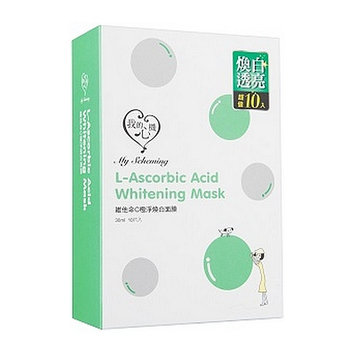 My Scheming - Classic L-Ascorbic Acid Whitening Mask 10 pcs
