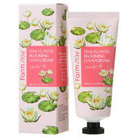 Farm Stay - Pink Flower Blooming Hand Cream (Water Lily) 100ml