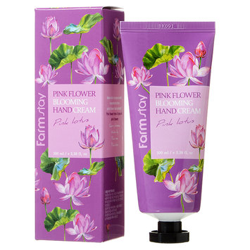 Farm Stay - Pink Flower Blooming Hand Cream (Pink Lotus) 100ml