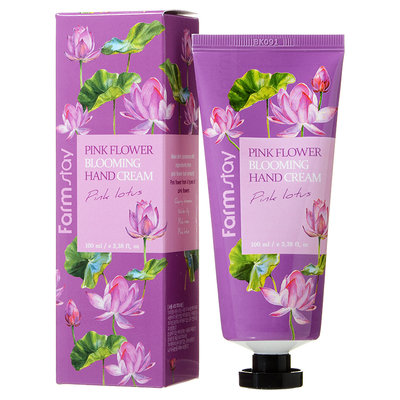 Farm Stay - Pink Flower Blooming Hand Cream (Pink Lotus) 100ml
