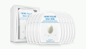 23years old - Cocoon Willow Silky Mask Set 10 pcs