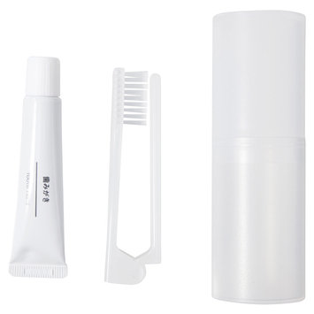 MUJI - Folding Tooth Brush Set With Cup 1 set