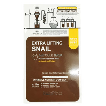 ReinPlatz - Extra Lifing Snail Ampoule Mask 10 pcs