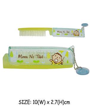 Sanrio - Minna No Tabo Foldable Hair Comb 1 pc