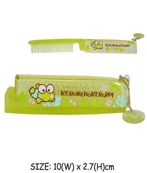 Sanrio - Kerokero Keroppi Foldable Hair Comb 1 pc