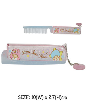 Sanrio - Little Twin Star Foldable Hair Comb 1 pc