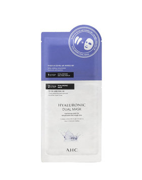 A.H.C - Hyaluronic Dual Mask: Eye Mask + Face Mask 5 pcs
