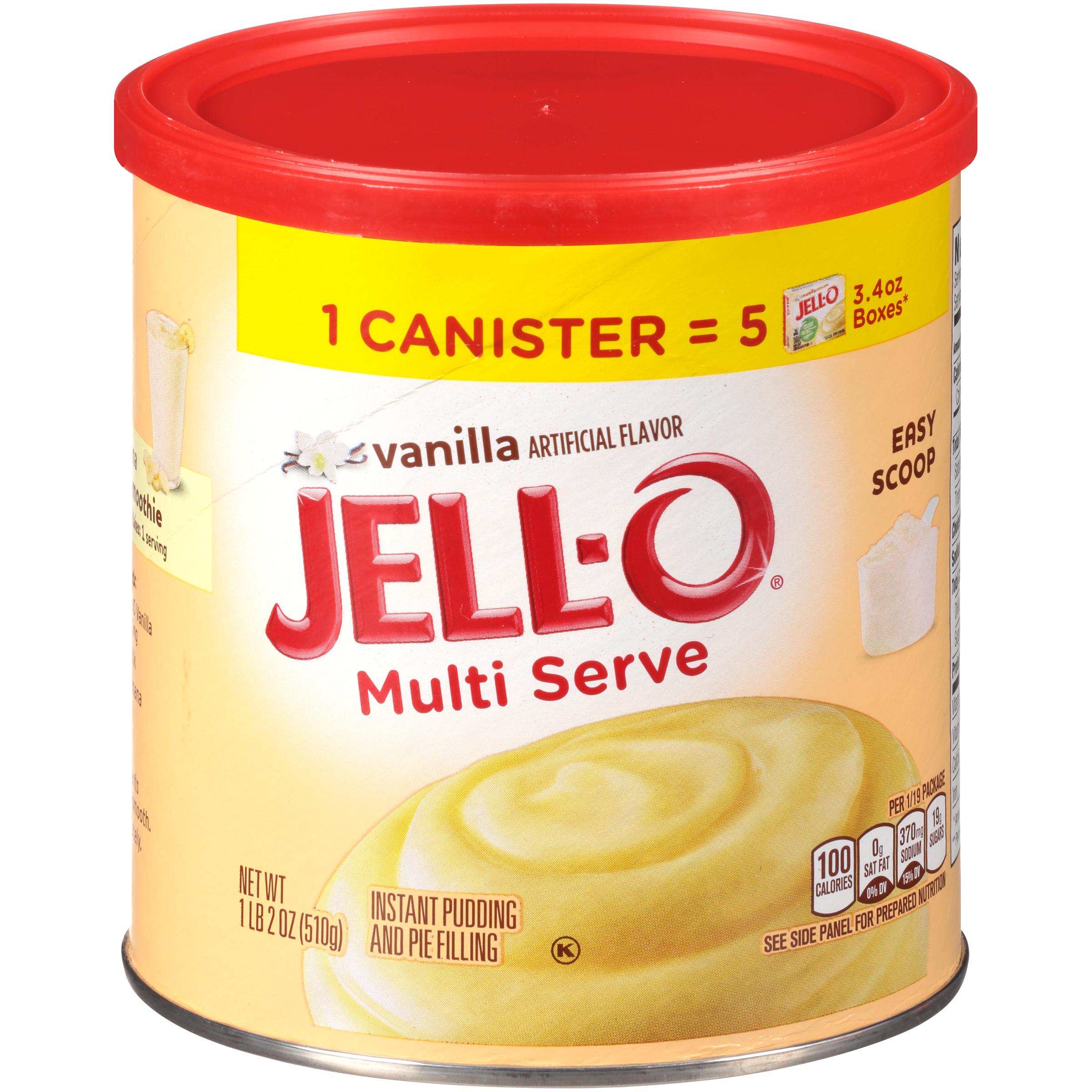 Jell-O Multi Serve Vanilla Instant Pudding & Pie Filling