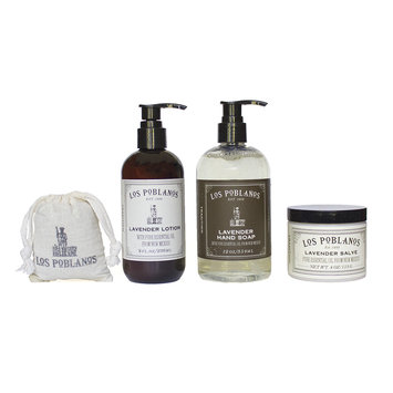 Los Poblanos Organic Lavender Organic Lavender Skincare Set