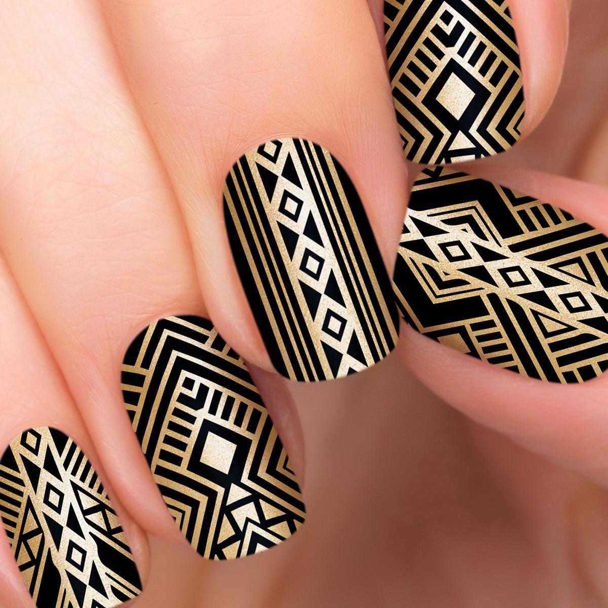 Incoco.com Incoco Nail Polish Strips, Gatsby