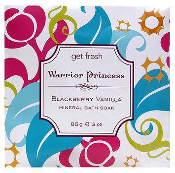 Get Fresh - Warrior Princess Blackberry Vanilla Mineral Bath Soak