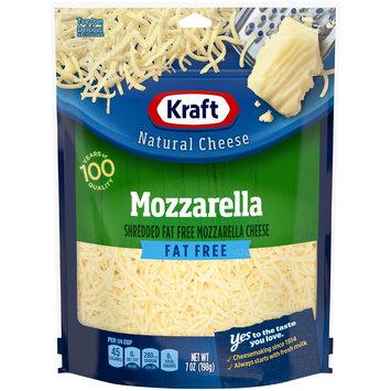 Kraft Fat Free Shredded Mozzarella Natural Cheese