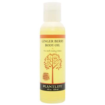 Plantlife Ginger Berry Natural Body Oil - 4 oz.