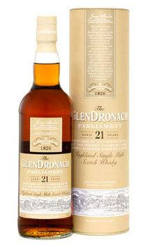 Glendronach Scotch Single Malt 21 Year Parliament