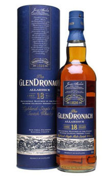 Glendronach Scotch Single Malt 18 Year Allardice