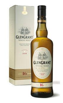 Glen Grant Scotch Single Malt 16 Year