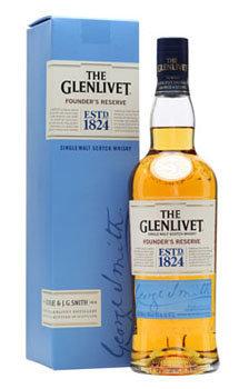 The Glenlivet Scotch Single Malt Founder's Reserve