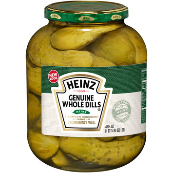 Heinz Genuine Whole Dill Pickles