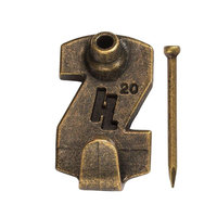 HangZ 30002 Gallery Picture Hooks - 20 lb. - 4 Pack