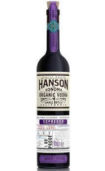 Hanson of Sonoma Vodka Organic Espresso