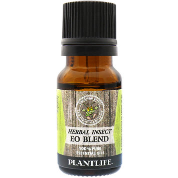 Plantlife Herbal Insect Natural Repellent 100% Pure Essential Oil Blend - 10 ml