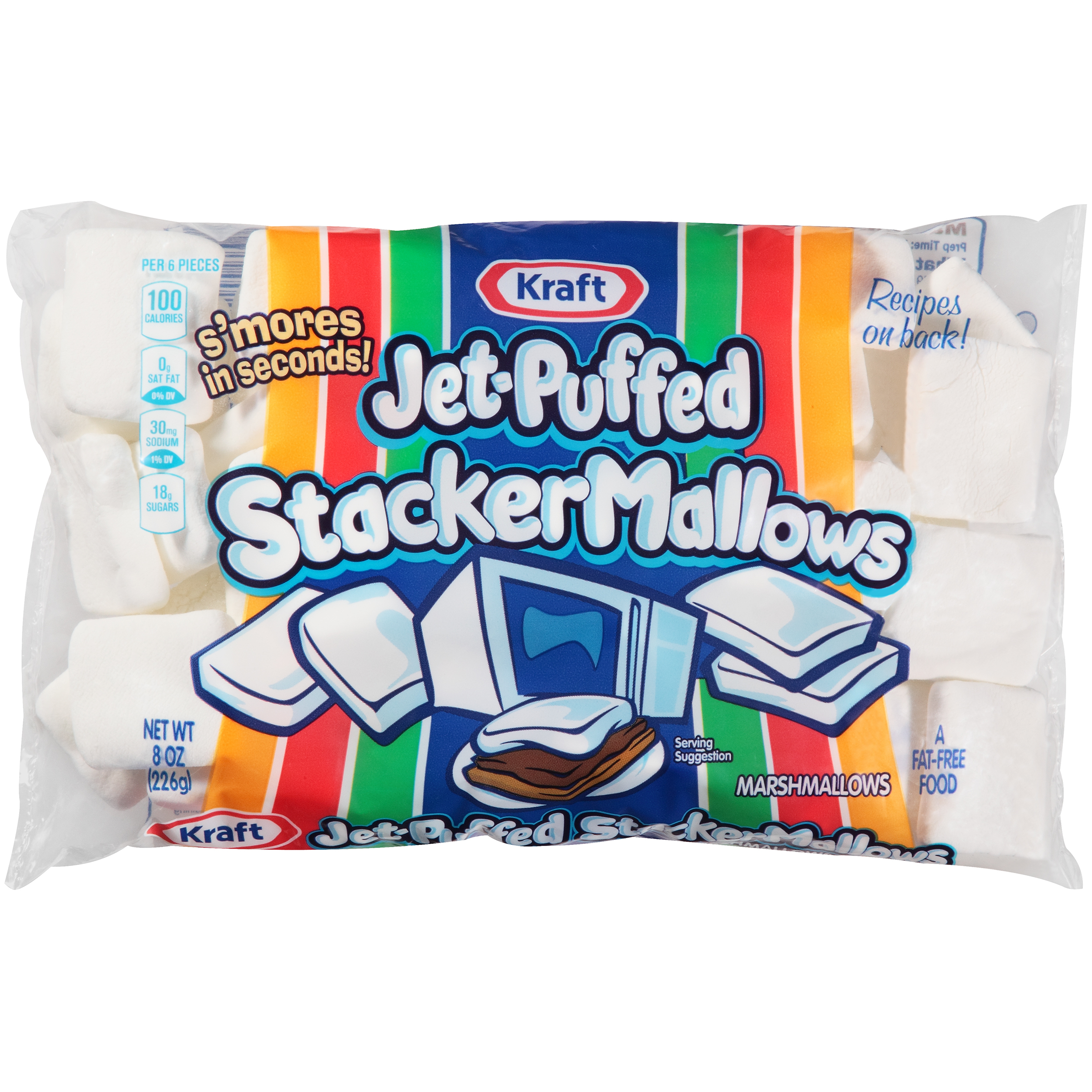 Jet-Puffed StackerMallows Marshmallows