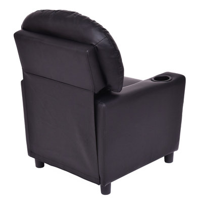 Costway Kids Recliner Armchair Children's Furniture Sofa Seat Couch Chair w/Cup Holder