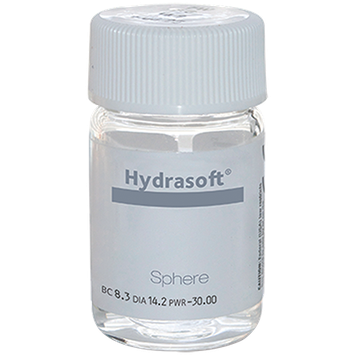 Hydrasoft sphere thin (vial) Contacts