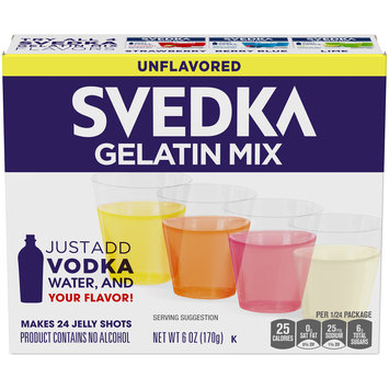 Svedka Unflavored Gelatin Mix