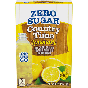 Country Time On-The-Go Sugar-Free Lemonade Powdered Soft Drink