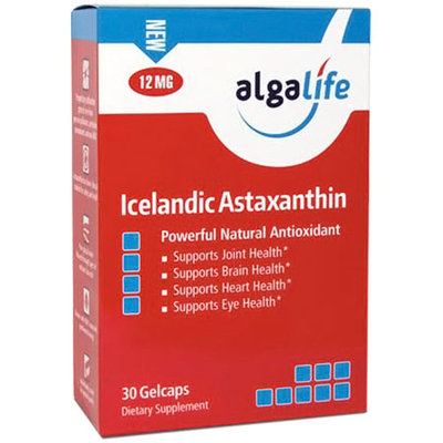 Icelandic Astaxanthin 12mg By Algalife - 30 Gelcaps