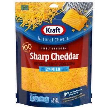 Kraft Sharp Cheddar 2% Milk Shredded Cheese