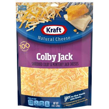Kraft Shredded Colby & Monterey Jack Natural Cheese Blend