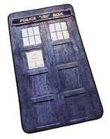 Distressed TARDIS Blanket - Exclusive