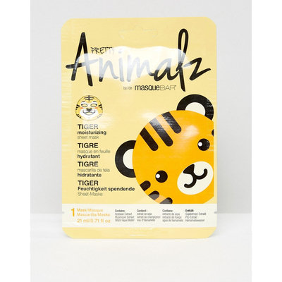 Masque Bar Pretty Animalz Tiger Moisturising Face Sheet Mask - 0.71 fl oz