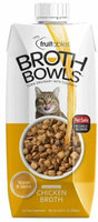 Fruitables® Broth Bowls Cat Food Topper - Chicken size: 16.9 Oz