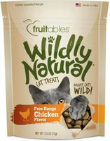 Fruitables® Wildly Natural Cat Treat - Natural, Limited Ingredient, Chicken size: 2.5 Oz