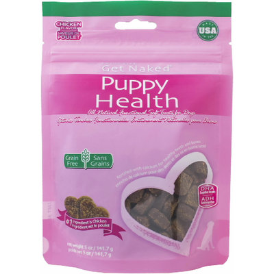 Get Naked Puppy Health Soft Dog Treats Chicken Flavor