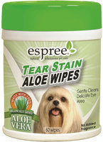 Espree NTSW Tear Stain Wipes - 60 Count